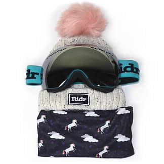 Unicorn Ski Set