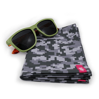 Forest Camo Sunglasses and Neck Tube Gift Set