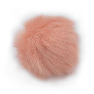 Pink Faux Fur Pom Pom