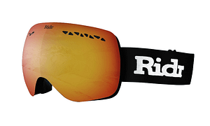 Ridr Edge Ski Goggles Black and Red