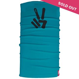 Blue Peace Neck Tube scarf