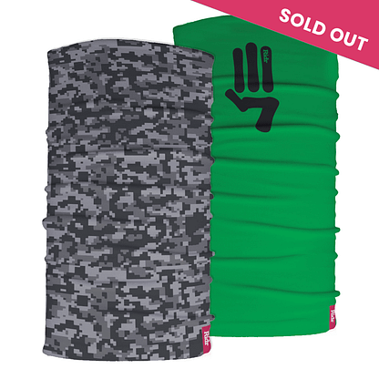 Camo and salute Neck Tube Gift Set