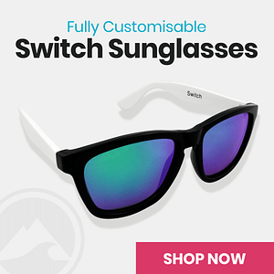 Fully customisable Switch Sunglasses