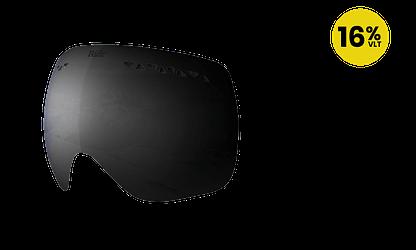 Ridr Edge Ski Goggles Black Polarised Lens