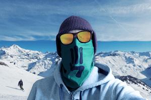 Green Respect Face shield neck tube