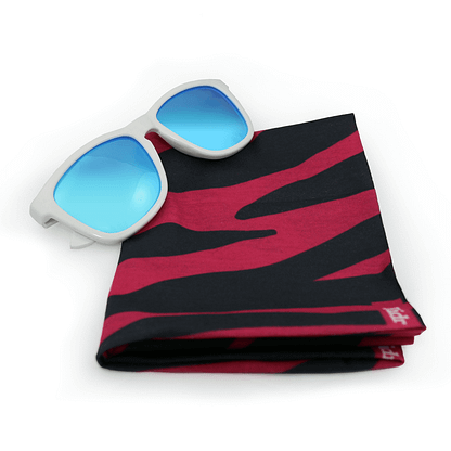Switch Ice sunglasses and Zebra Neck scarf gift Set