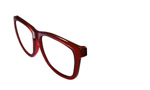 Switch Sunglasses Red Frame