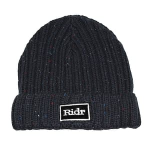Navy Ridr Flex Beanie Hat