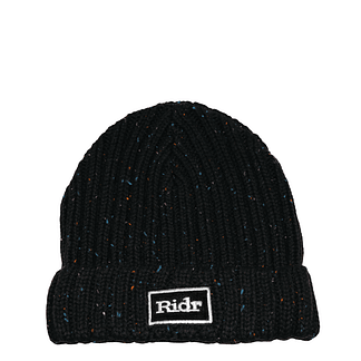 Black Ridr Flex Beanie Hat