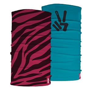 Zebra and Peace Neck Tube Set