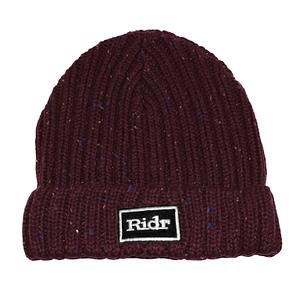 Burgundy Ridr Flex Beanie Hat