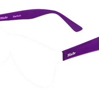 Switch Sunglasses purple arms