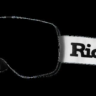 Ridr Edge Custom Ski Goggles White Strap