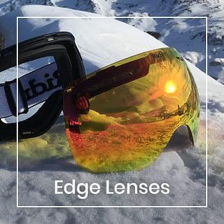 Edge Goggles lenses