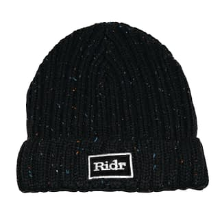 Black Ridr Flex Beanie Hat