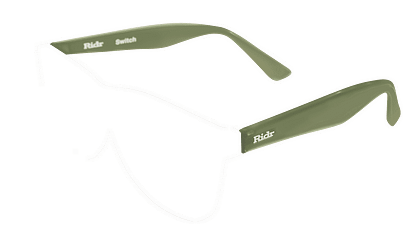 Switch Sunglasses olive arms