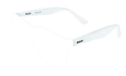 Switch Sunglasses White arms