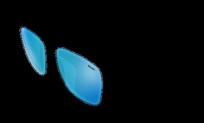 Switch Sunglasses Blue chrome Lenses