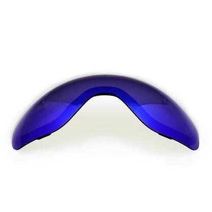 Blue Chrome Mirror lens