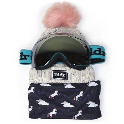 Unicorn Ski Set